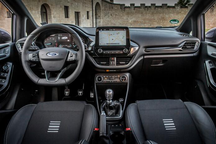 Onder andere de Fiesta is uitgerust met het Sync 3 systeem met navigatie