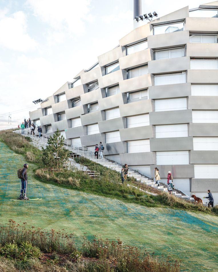 Copenhill in Kopenhagen, een ontwerp van de Deense architect Bjarke Ingels. Beeld Rasmus Hjortshoj