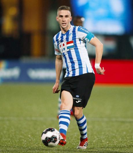 Aanvoerder en trainer FC Eindhoven botsten: 'We spelen gelijk omdat ik zo dom doe'