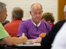 Klaverjasclub verzet zich tegen drooglegging: 'behalve denksport ook gezellig en sociaal samenzijn'