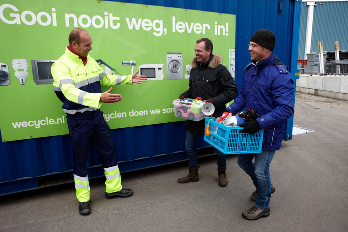 Wecycle e-waste milieustraat