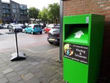 Oppositie wil af van illegale kledingcontainers in Oss: 'Opruimen die hap'