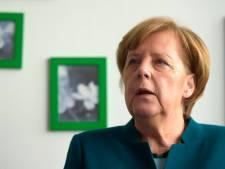 Merkel betuigt steun aan mensen in Utrecht