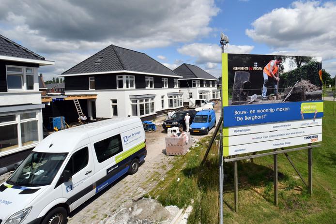 De woningbouw in de tweede fase van de Enterse nieuwbouwwijk De Berghorst zal medio 2022 op stapel staan. Dat werd afhelopen najaar bekend.