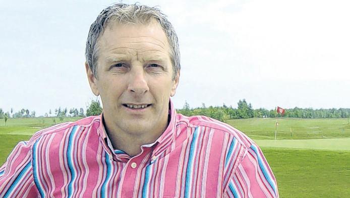 Graeme Rutjes (51) is momenteel directeur van de golfbaan in Goes. © WILLEM MIERAS