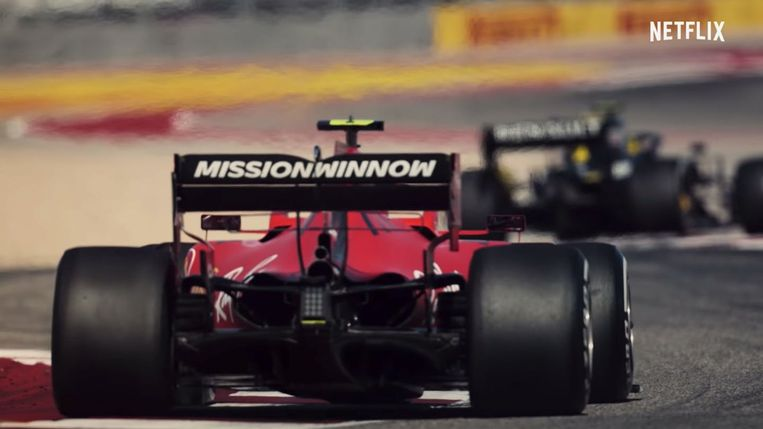 'Formula 1: Drive to Survive' Beeld Netflix