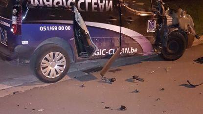 Gedrogeerde trucker (53) ramt vier wagens, verkeersborden en bomen en wordt na achtervolging van twee uur ingerekend
