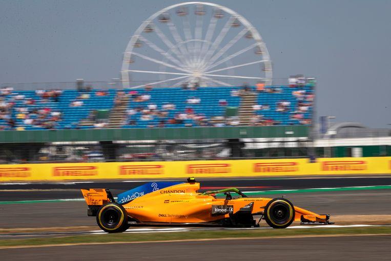 Stoffel Vandoorne in actie vorig jaar op het circuit van Silverstone, van wie het contract na dit jaar afloopt.