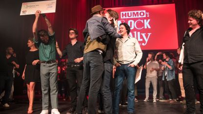 The Calicos winnen Humo's Rock Rally 2018