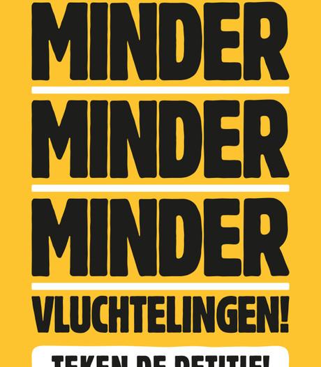 Campagne Stichting Vluchteling vervroegd door 'uitgelekte' borden