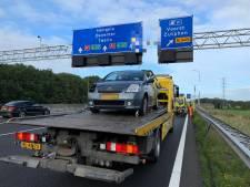 File opgelost na ongeluk op A1 bij Apeldoorn