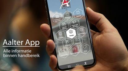 Aalter lanceert handige app