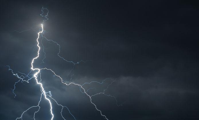 Op de Noordelijke IJszee bij Siberië werden 58 bliksemontladingen waargenomen (Archiefbeeld).