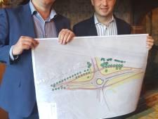 Den Bosch en Vught presenteren nieuwe plannen rotonde: twee fietsbruggen en bypass richting Bossche stad