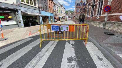 Vanaf woensdag terug normale doorgang voor auto's in centrum Geraardsbergen