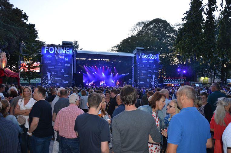 Het slotweekend van de Fonnefeesten was goed voor enkele hoogtepunten met een vol plein voor de Tijdloze Party en het optreden van 10cc.