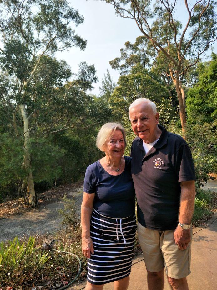 Sanny (77) en Cees (79) uit Bergen op Zoom op bezoek bij hun familie in Sydney.