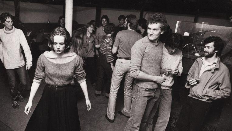 Openingsavond van Dansen bij Jansen, 25 oktober 1977 Beeld Stadsarchief