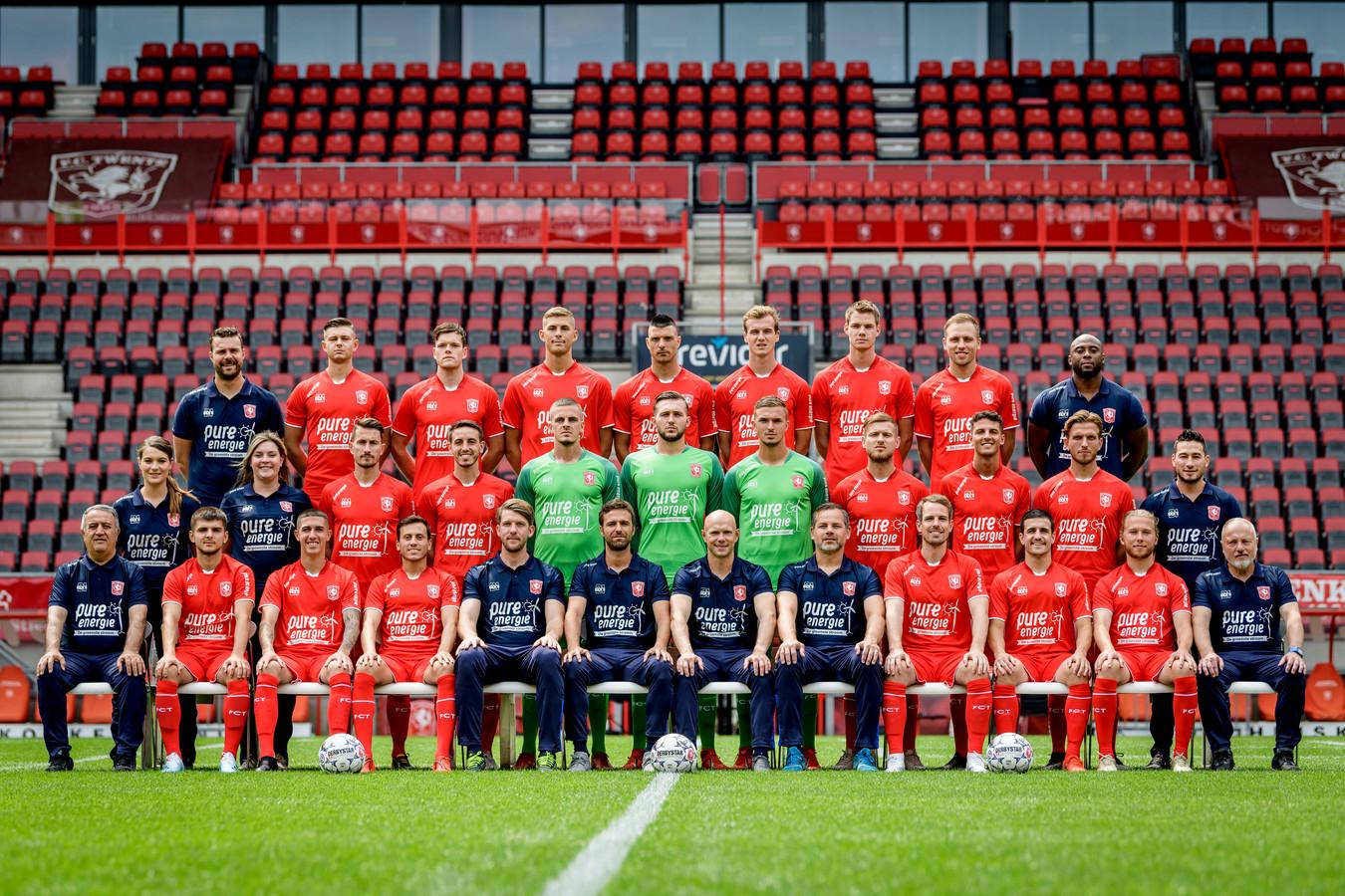 De selectie van FC Twente