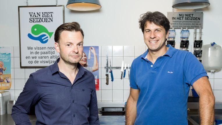 Teun van de Keuken en Quirijn Bolle Beeld Ivo van der Bent