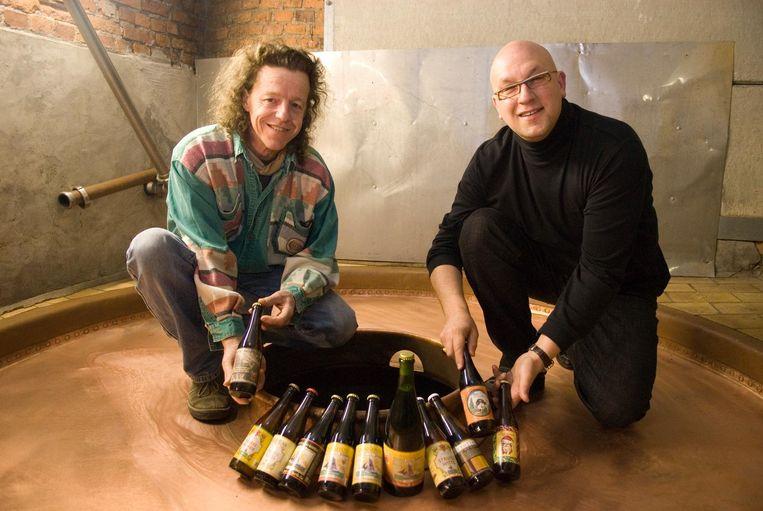 Urbain Coutteau en Carlo Grootaert van De Struise Brouwers.