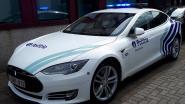 Politie Zaventem trekt met Tesla naar Nationale Feestdag