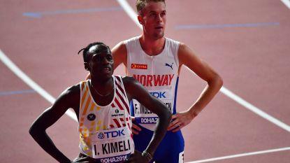 Isaac Kimeli strandt in halve finales 1.500m - Wereldrecord voor Amerikaanse hordenloopster