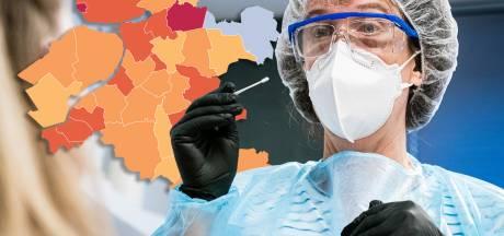 Kaart | Meer positieve coronatesten in Oost-Nederland: Heerde van grijs naar oranje, minder besmettingen op Urk