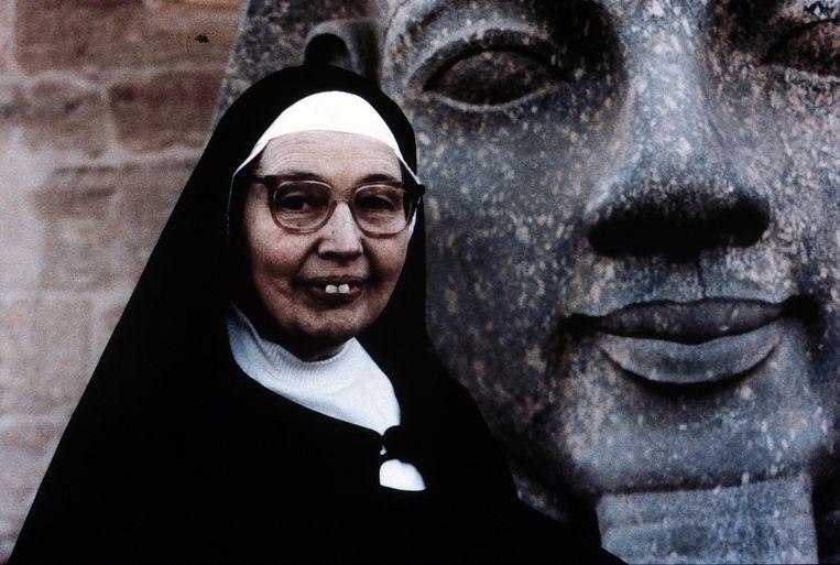 Zuster Wendy Beckett in 1996. Beeld ANP Kippa