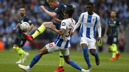 'Vintage' De Bruyne: Rode Duivel met héérlijke assist op Wembley in halve finale van FA Cup