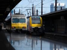 Grève sur le rail: la moitié des trains circulent