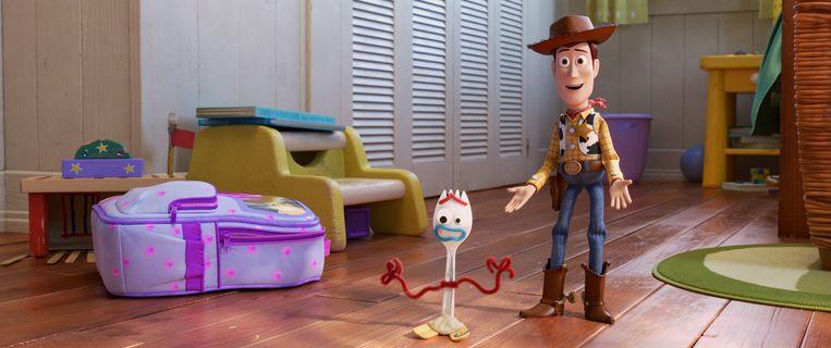 Toy Story 4, een van de succesfilms van Disney. Beeld AP