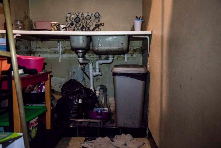 Deze keuken staat niet in derde wereld land in Afrika, maar gewoonweg in Sint-Truiden