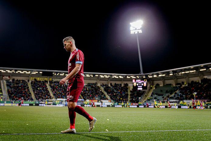 Bryan Linssen in actie namens Vitesse dit seizoen.