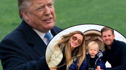 Trump wordt voor de tiende keer opa