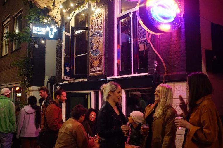 Een vrijdagavond bij Café de Koe Beeld Café de Koe
