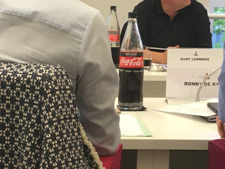 Ook cola zero hoort er voortaan bij...
