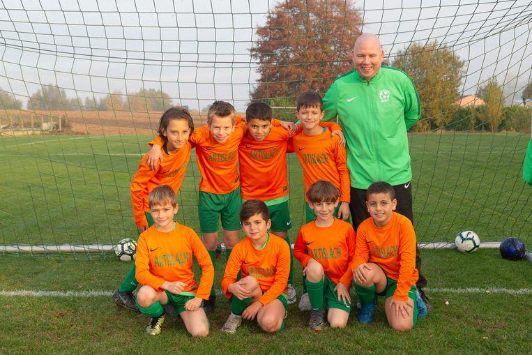 Ook voor deze jeugdploeg ligt er nog een toekomst bij TK Meldert.
