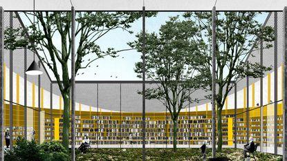 Nieuwe bibliotheek kost 2,1 miljoen euro en u mag een passende naam kiezen