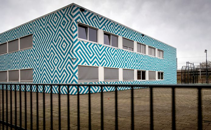 Het Cornelius Haga Lyceum in Amsterdam.