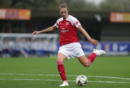 Vivianne Miedema scoort aan de lopende band bij haar club Arsenal.