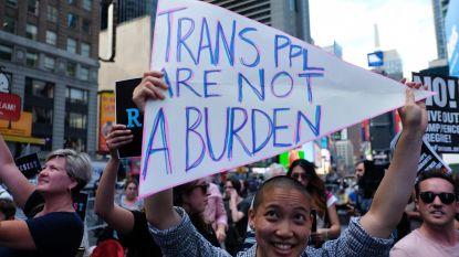 Tweede rechter blokkeert Trumps transgenderverbod in leger