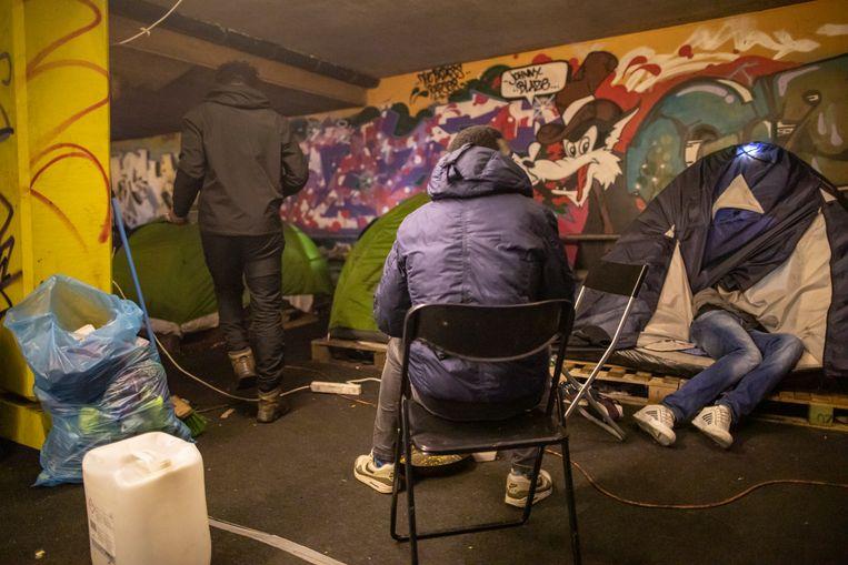 Garage Kempering op archiefbeeld.  Beeld Marc Driessen