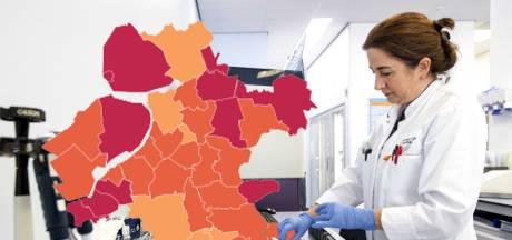 KAART | Opluchting: regio kleurt grotendeels oranje (maar virus grijpt wel hard om zich heen in Staphorst)