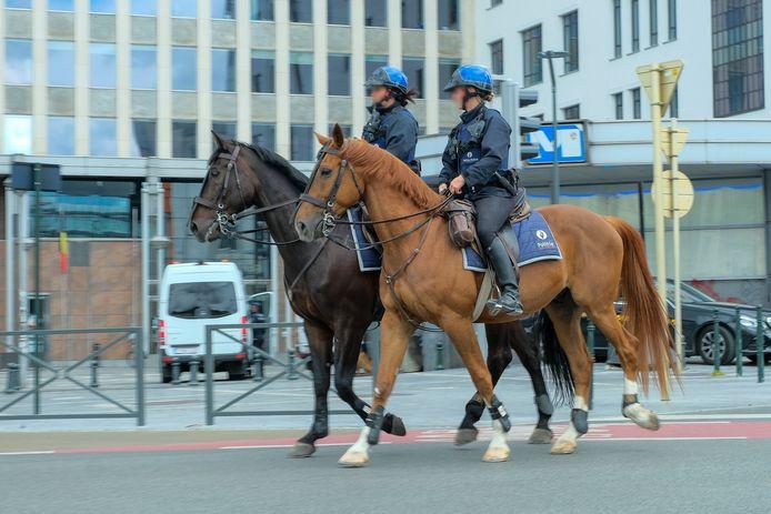 Politie aan de Naamsepoort