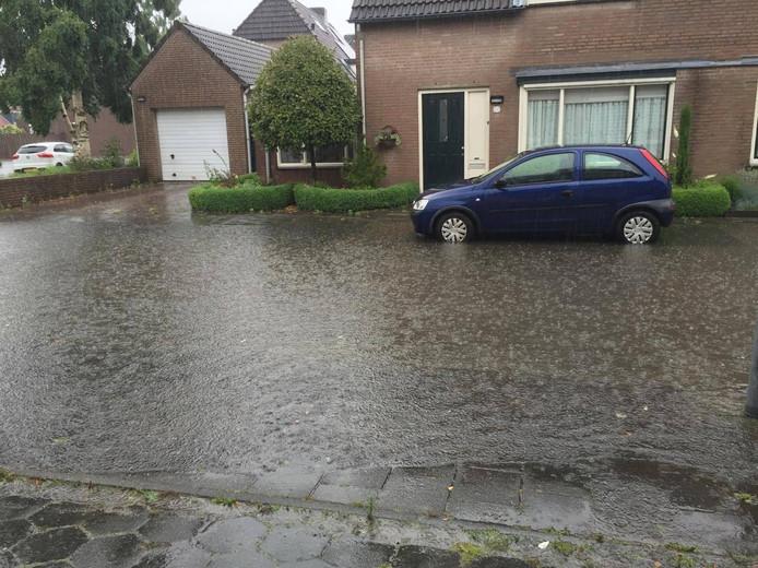 Ook Veldhoven liep onder water