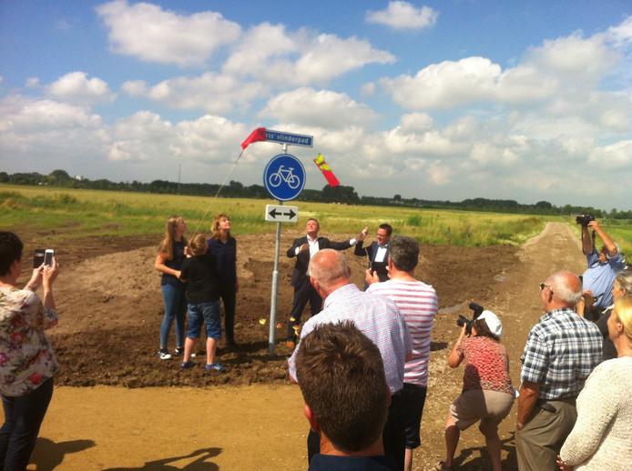 Bij Woudrichem is het Iris' Vlinderpad geopend.