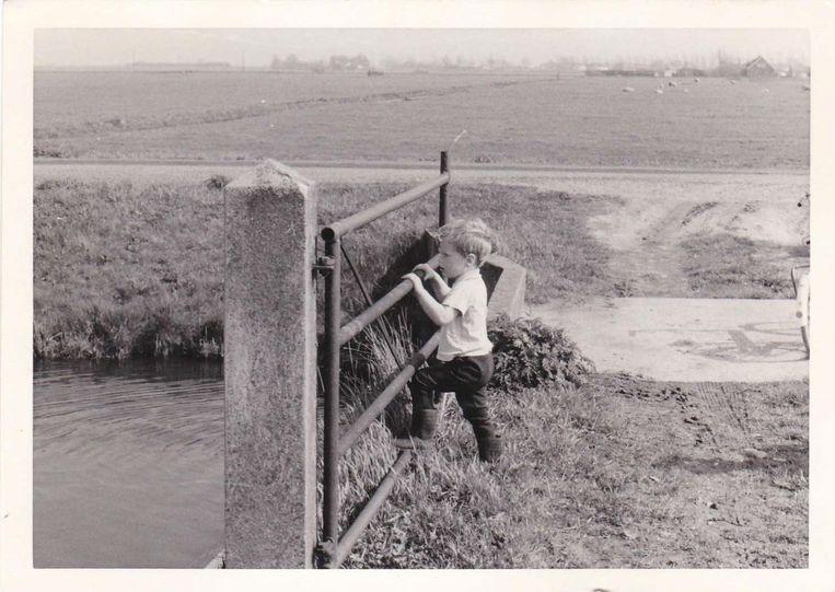 Pieter Duisenberg als peuter in 1970. Beeld