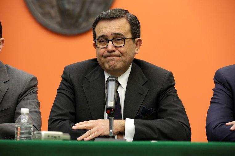Ildefonso Guajardo, de Mexicaanse minister van Economie.