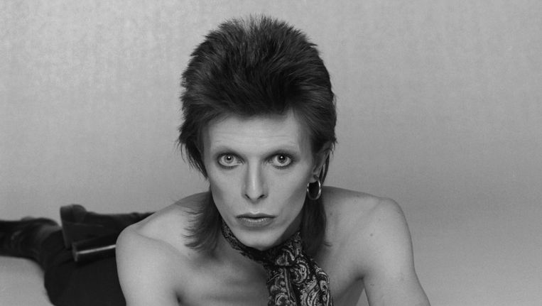 David Bowie in 1974. Beeld getty